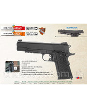 KWC Colt 1911 KMB-77 AHN full metal BLOWBACK (Weawer Mount)