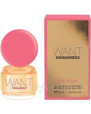 Dsquared2 Want Pink Ginger парфюмированная вода 100 мл Тестер