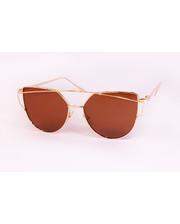Солнцезащитные очки зеркальные Коричневые (P8911-2)