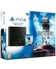 Sony PlayStation 4 Slim 1Tb + Star Wars Battlefront 2 (Bundle ) Black