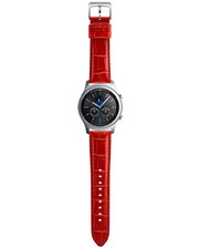 Samsung Gear S3 Classic Alligator Grain Leather Red (ET-YSA76MREGRU)