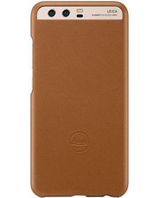 Huawei P10 Plus Leica Leather Case Brown