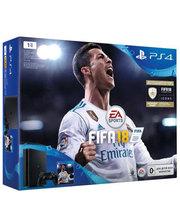 Sony PlayStation 4 Slim 1Tb + FIFA18 + підписка PlayStation®Plus на 14 днів (ОФІЦІЙ