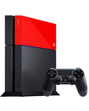 Sony Playstation 4 Red