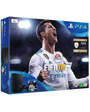 Sony PlayStation 4 1TB + FIFA18 Black