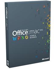 Microsoft Office 2011 Mac для дому та бізнесу (W6F-00211) RUS