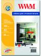 WWM Самоклеющаяся прозрачная плёнка для струйных принтеров A3 20л 150мкм