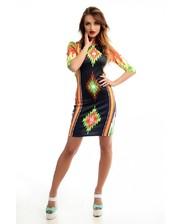 ARTY Жіноча класична сукня ''Карпатські мотиви''.