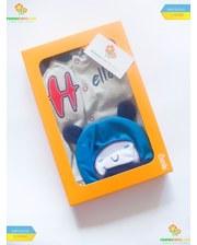 """Bembi Комплект для хлопчика """"Привіт!"""" (КП174), 5 предметів."""