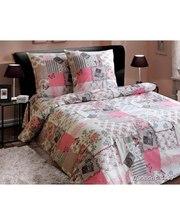 """Комфорт-текстиль Комплект постільної білизни """"Прованс рожевий""""."""