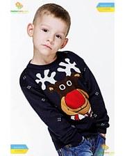 Фолк Мода Светр для хлопчика Веселий Олень (мод.101).