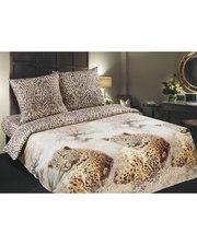 """Комфорт-текстиль Комплект постільної білизни """"Леопарди""""."""