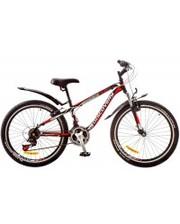 """Discovery Велосипед Flint AM 24"""" 14G Vbr рама-13"""" черный/белый/красный"""