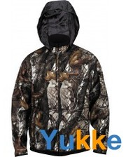 NORFIN Куртка двухсторонняя флисовая Hunting Thunder Staidness/Black