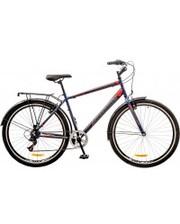 """Discovery Велосипед Prestige Man 29"""" 14G Vbr рама-19,5"""" синий/серый/красный с багажником"""