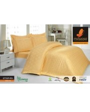 Mariposa Комплект постельного белья 160x220 De Luxe Tencel Бамбук Жаккард Ottoman Gold v6