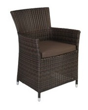 Garden4you Кресло ротанговое Wicker-1 1269