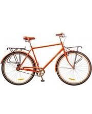 "Dorozhnik Велосипед Comfort Male 28"" 14G рама-22"" St оранжевый с багажником"