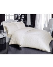 Mariposa Комплект постельного белья 160x220 De Luxe Tencel Бамбук Жаккард Natural Life Cream v3