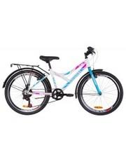 """Discovery Велосипед Flint MC 2019 24"""" белый/голубой/розовый 14"""""""