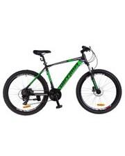 "Optimabikes Велосипед F-1 HDD 2018 26"" черный/зеленый 19"""