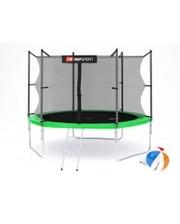 Hop-Sport Батут с внутренней сеткой 10ft (305cm) Green