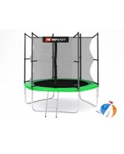Hop-Sport Батут с внутренней сеткой 8ft (244cm) Green