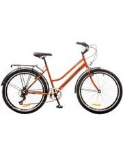 """Discovery Велосипед Prestige Women 26"""" 14G Vbr рама-17"""" красный/черный с багажником"""