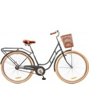 "Dorozhnik Велосипед Retro 28"" 14G рама-19"" St серый с багажником"