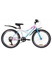 """Discovery Велосипед Flint 2019 24"""" белый/голубой/розовый 14"""""""