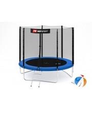 Hop-Sport Батут с внешней сеткой 8ft (244cm) Blue