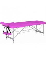 RELAX Массажный стол HY-2010-1.3 розовый