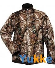 NORFIN Куртка двухсторонняя флисовая Hunting Thunder Passion/Brown