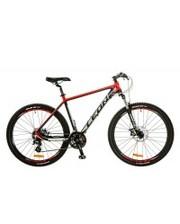 "LEON Велосипед XC-80 DD 27.5"" 20"" 2017 Black-Red"
