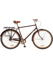 "Dorozhnik Велосипед Comfort Male 28"" 14G рама-22"" St коричневый с багажником"