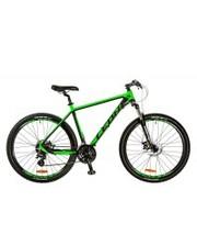 "LEON Велосипед XC-80 DD 27.5"" 20"" 2017 Black-Green"