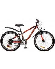 """Discovery Велосипед Flint AM 24"""" 14G Vbr рама-13"""" черный/оранжевый/красный"""