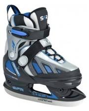 SFR Коньки раздвижные Softboot Ice Skate Blue 35.5-39.5