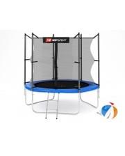 Hop-Sport Батут с внутренней сеткой 8ft (244cm) Blue