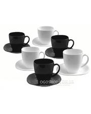 Luminarc Carine Black/White D2371