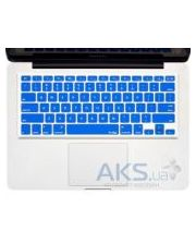 "Kuzy Silicone Keyboard Cover for 13"" 15"" 17"" Blue"
