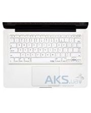 "Kuzy Silicone Keyboard Cover for 13"" 15"" 17"" White"