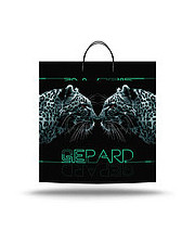 """Пакеты с пластиковой ручкой супербольшие """"Гепард"""" 40x45(уп.10 шт.)"""