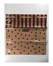 """Пакеты с пластиковой ручкой большие """"Баги"""" 40x40 (уп.10 шт.)"""