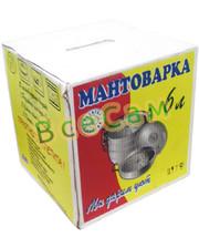 Манты-казан /мантоварка/ 6 л 3 секции (Калитва)