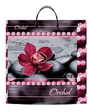 """Пакеты с пластиковой ручкой супербольшие """"Орхидея"""" 40x45(уп.10 шт.)"""