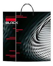 """Пакеты с пластиковой ручкой супербольшие """"Блэк"""" 40x45(уп.10 шт.)"""