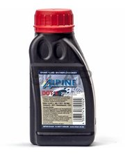 Alpine 0101101 Тормозная жидкость Brake Fruid DOT 4, 0,25 л