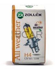 Zollex 61024 Лампа галогеновая H4 All Weather (12V, 60/55W)