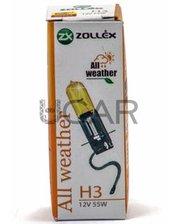 Zollex 60924 Лампа галогеновая H3 All Weather (12V, 55W)